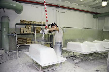 Технология производства акриловых ванн